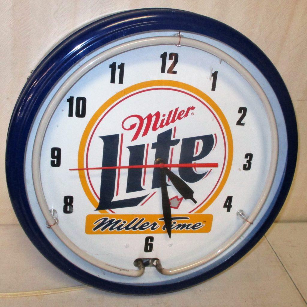 171: Miller Lite Neon Clock