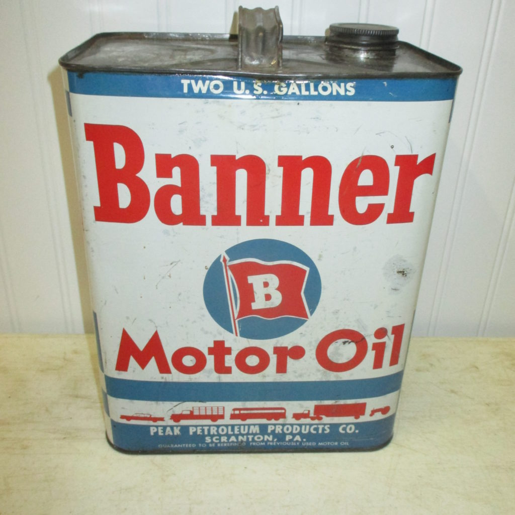 Banner Oil Can