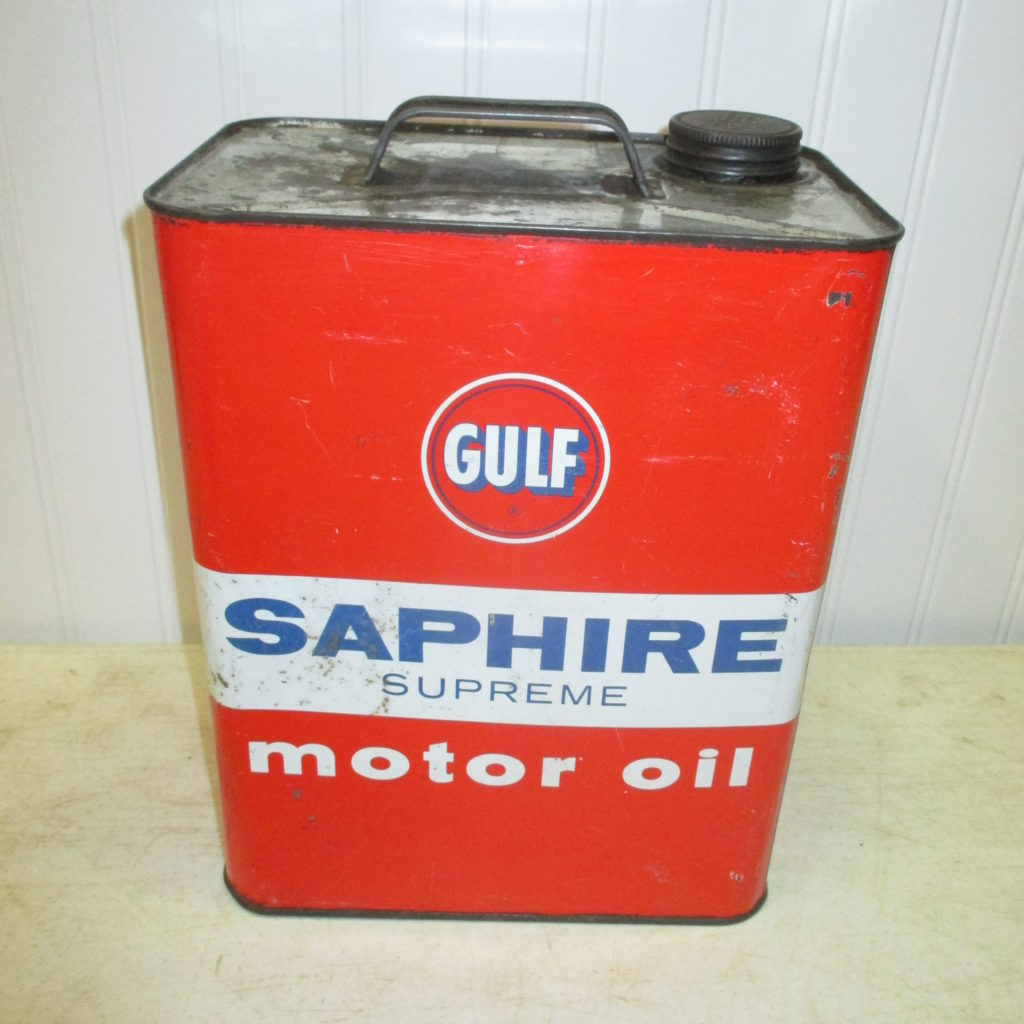 Gulf Saphire Oil Can