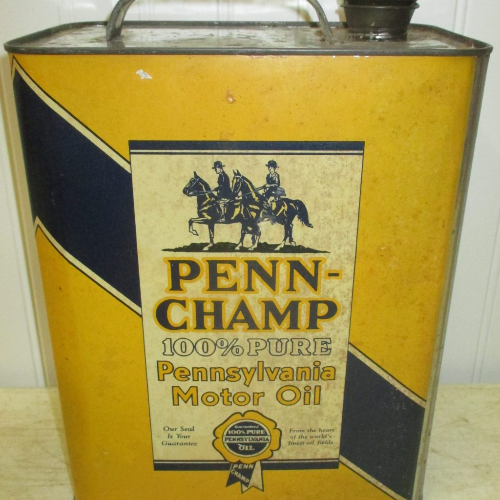 Penn Champ Oil Can