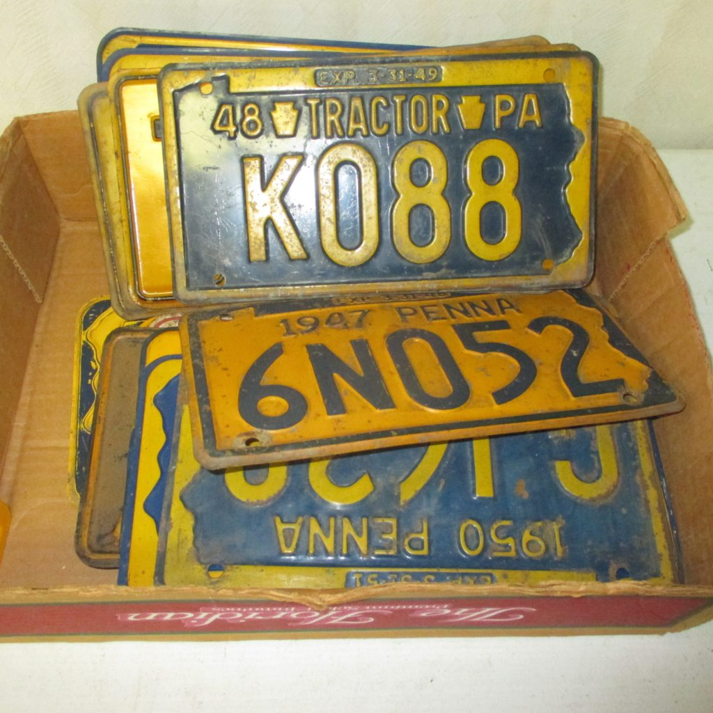 212: (19) License Plates