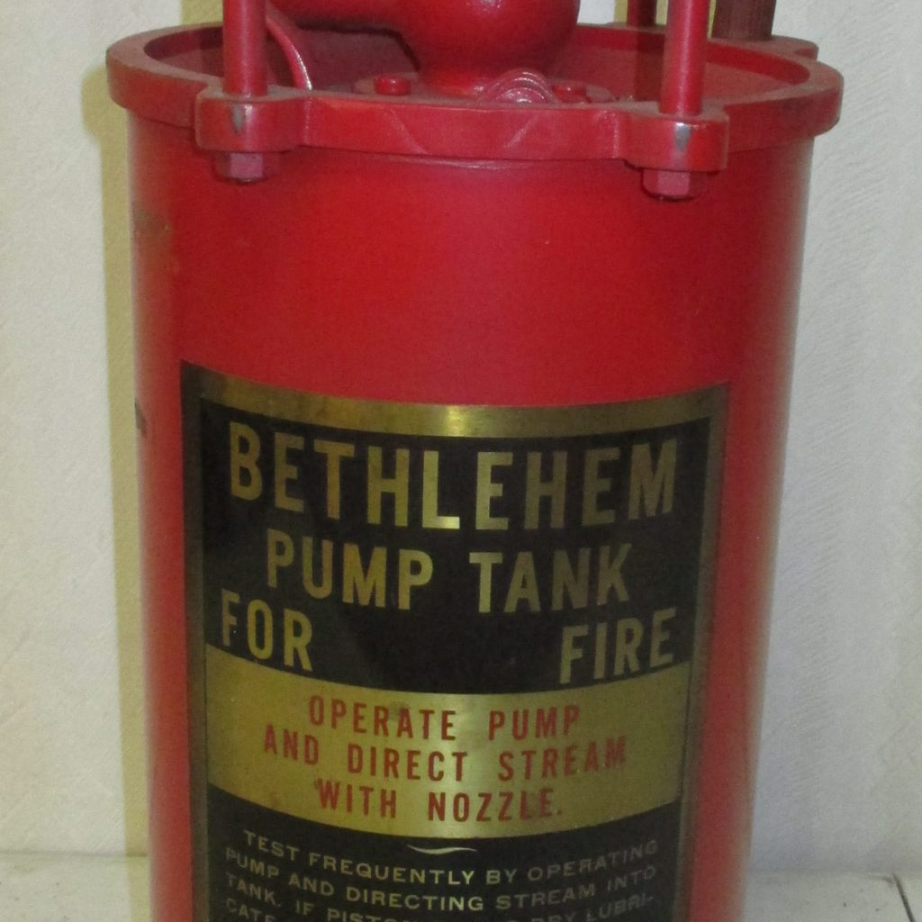 213: Pump Tank Tire Extinguisher