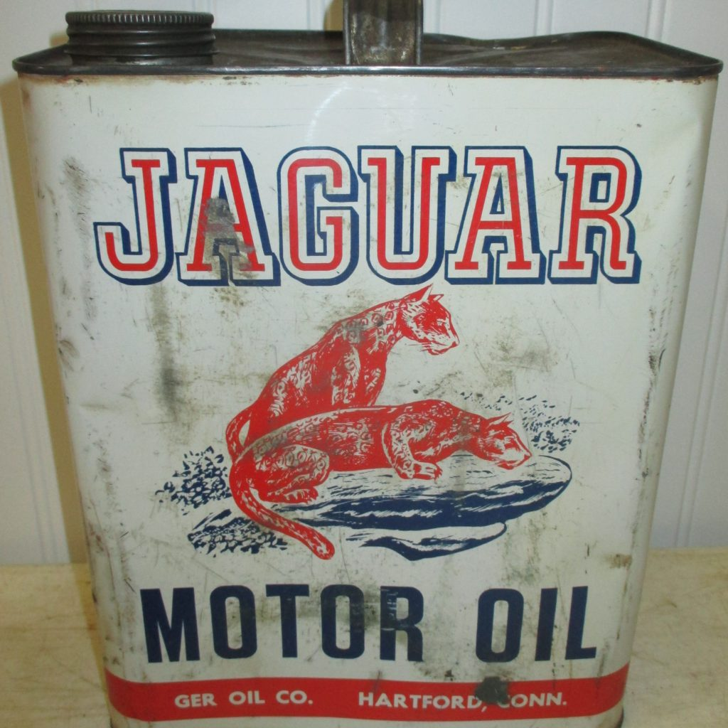 Jaguar Oil Can