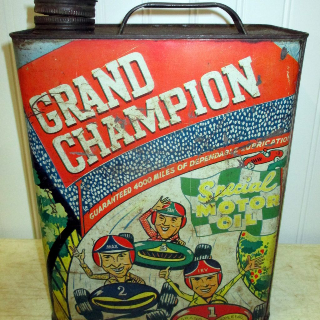 GrandChampion Oil Can