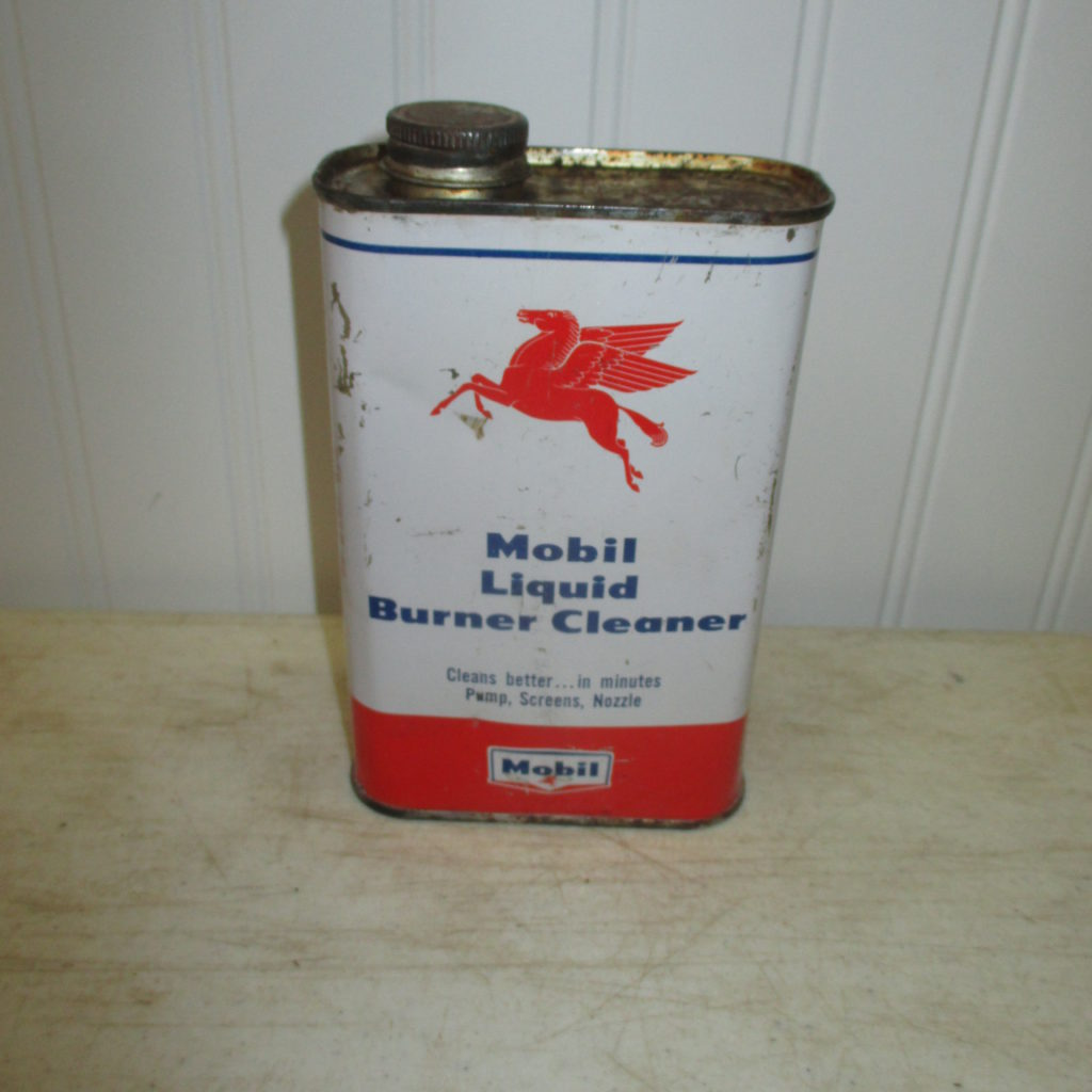 Mobil Burner Cleaner Can