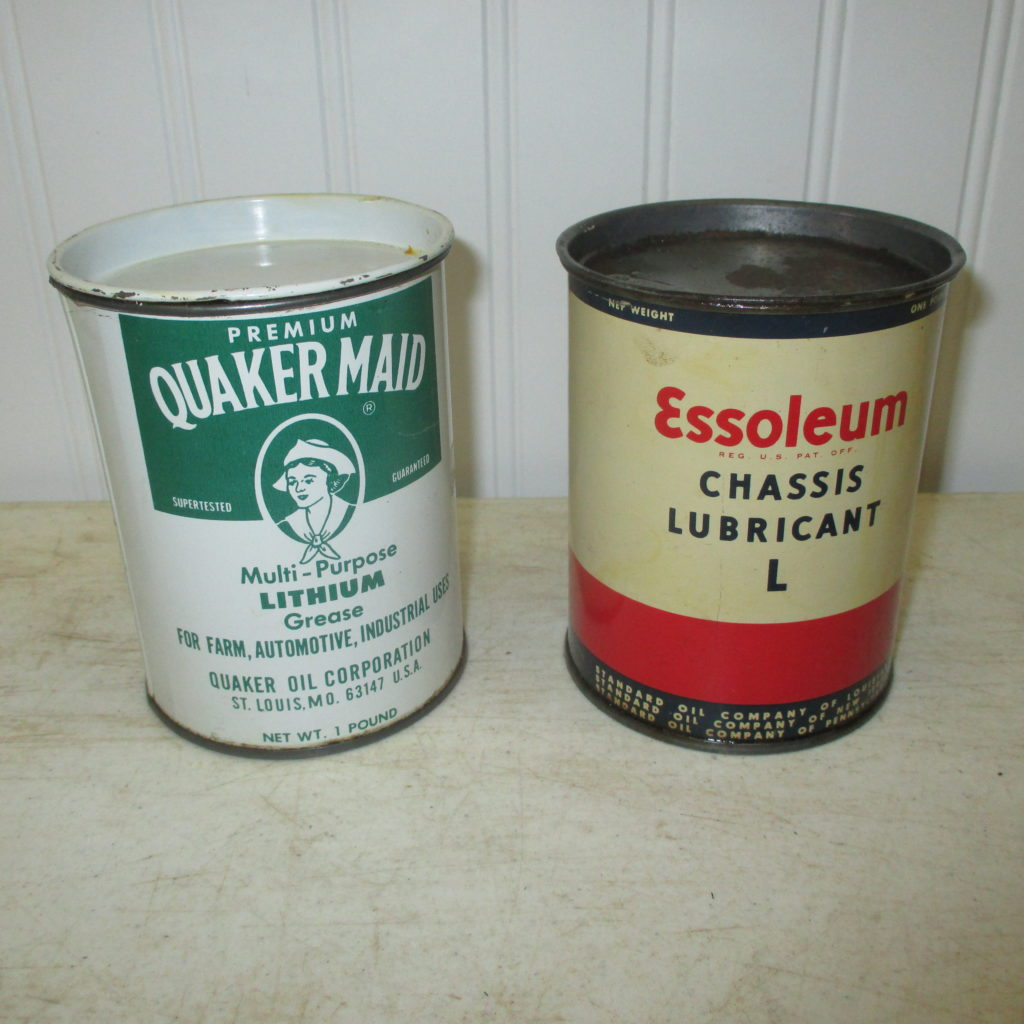 Quaker Maid And Essoleum Cans