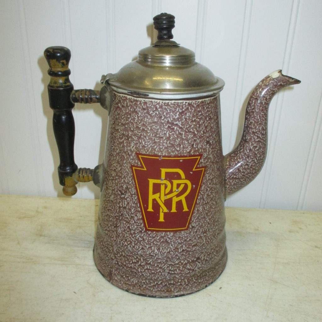 PRR Granite Ware Coffee Pot (wow)