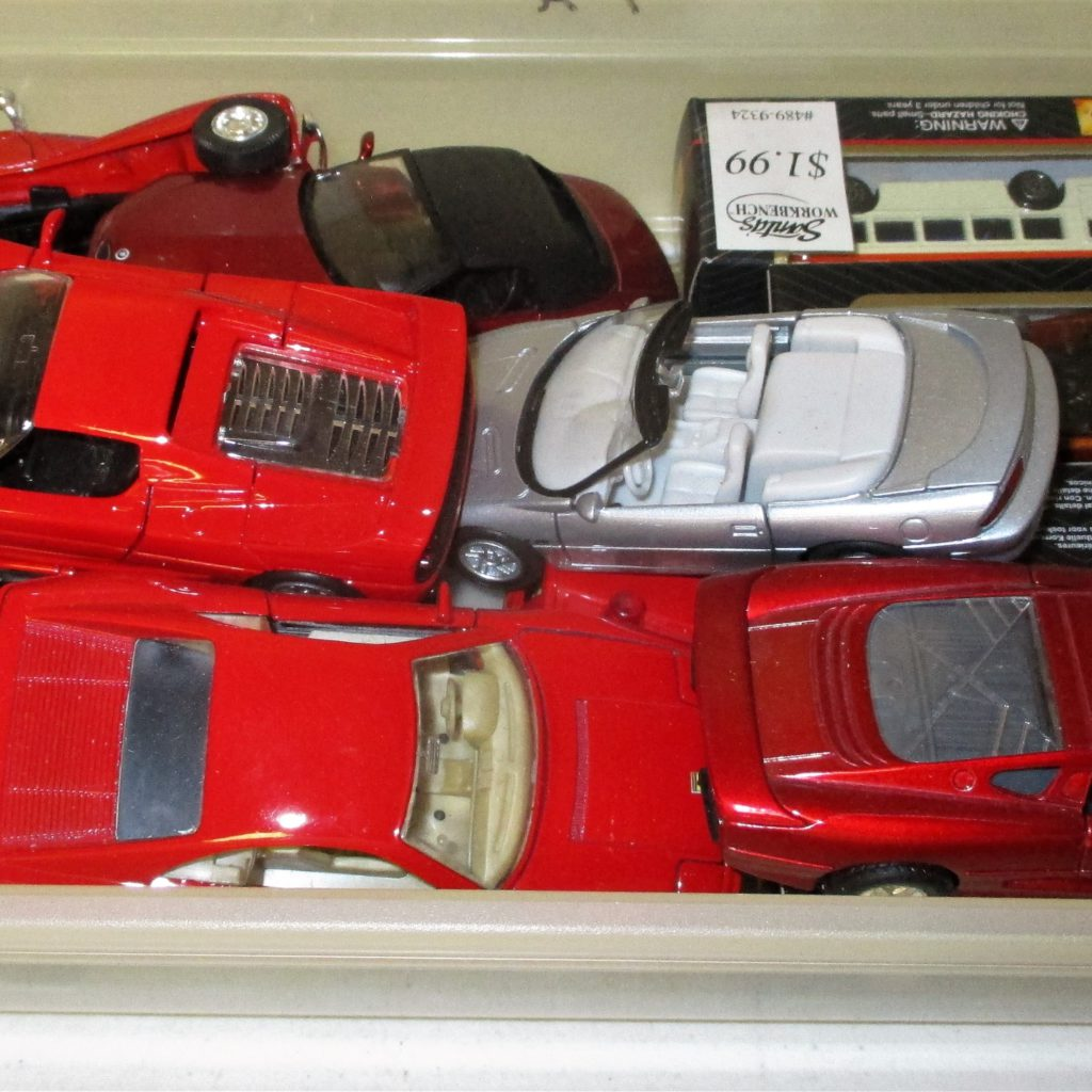 102: Die Cast Car Lot