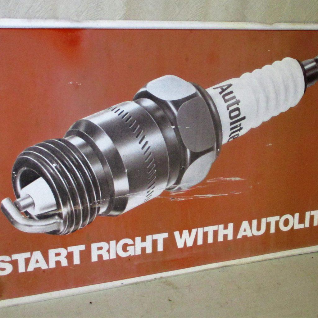 111: Autolite Spark Plug Sign