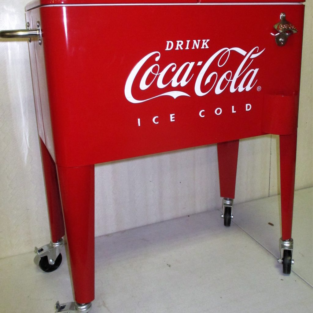 118: Coca-Cola Standing Cooler (new)