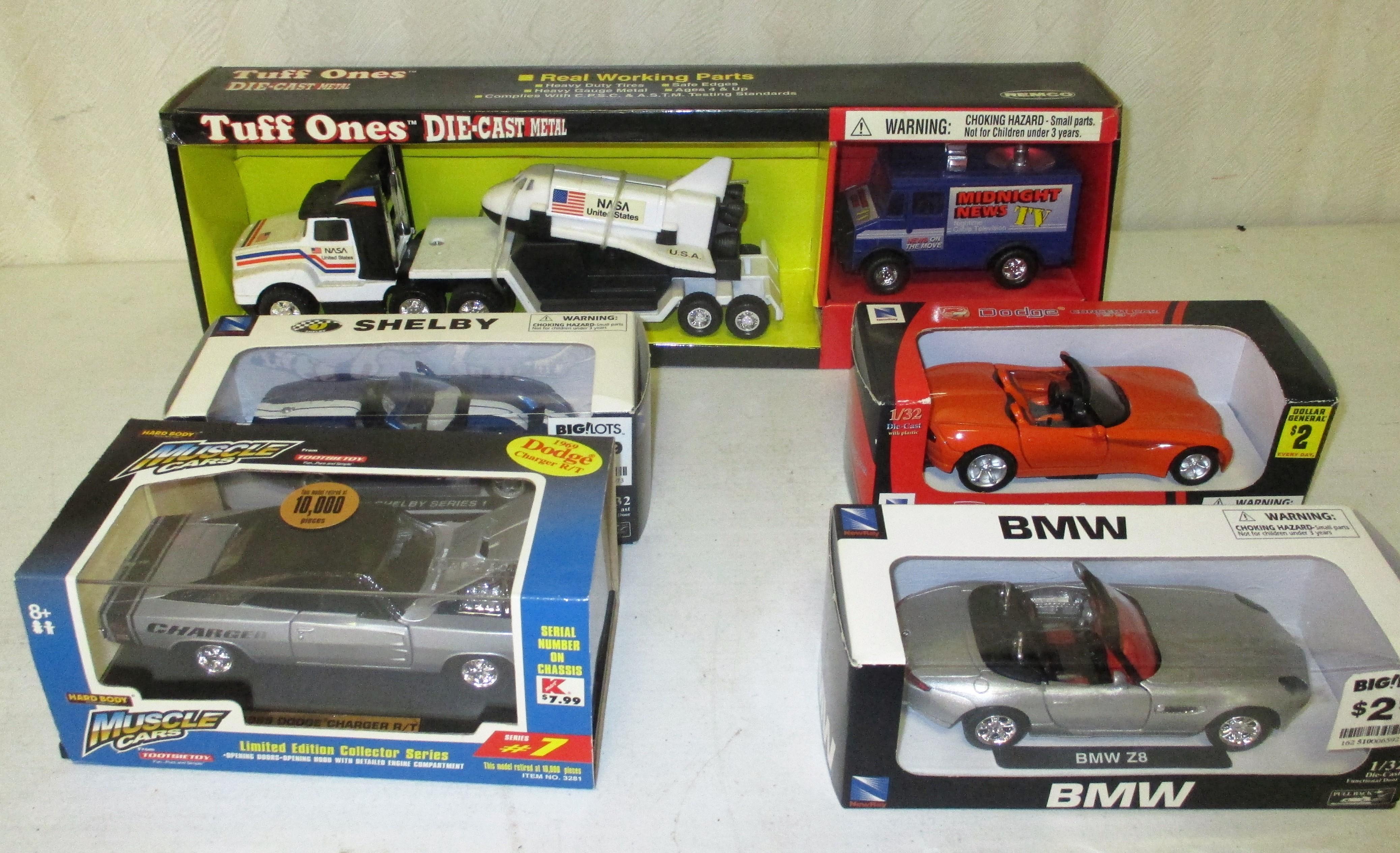 119: Toy Vehicle Lot