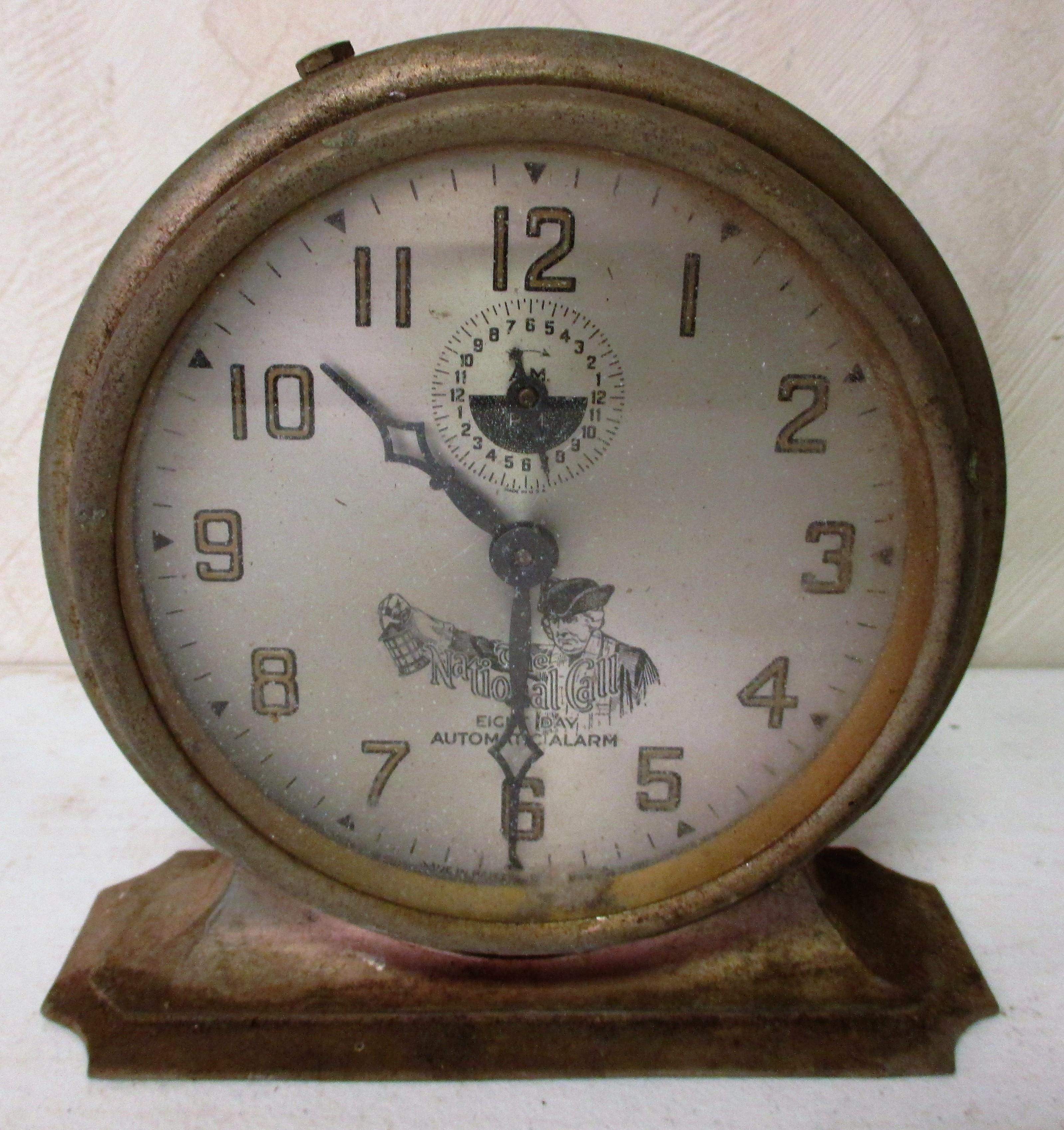 120: National Call 8-day Alarm Clock