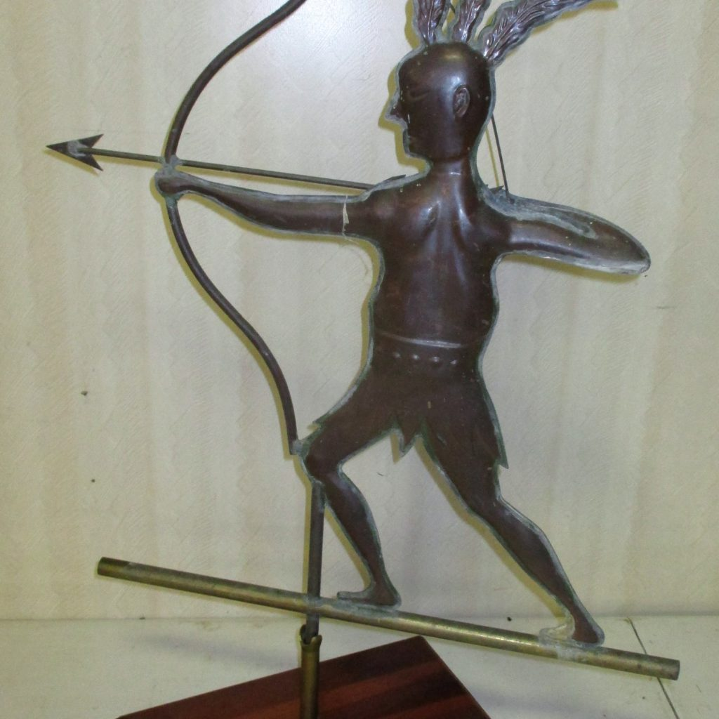 122: Indian Copper Weathervane