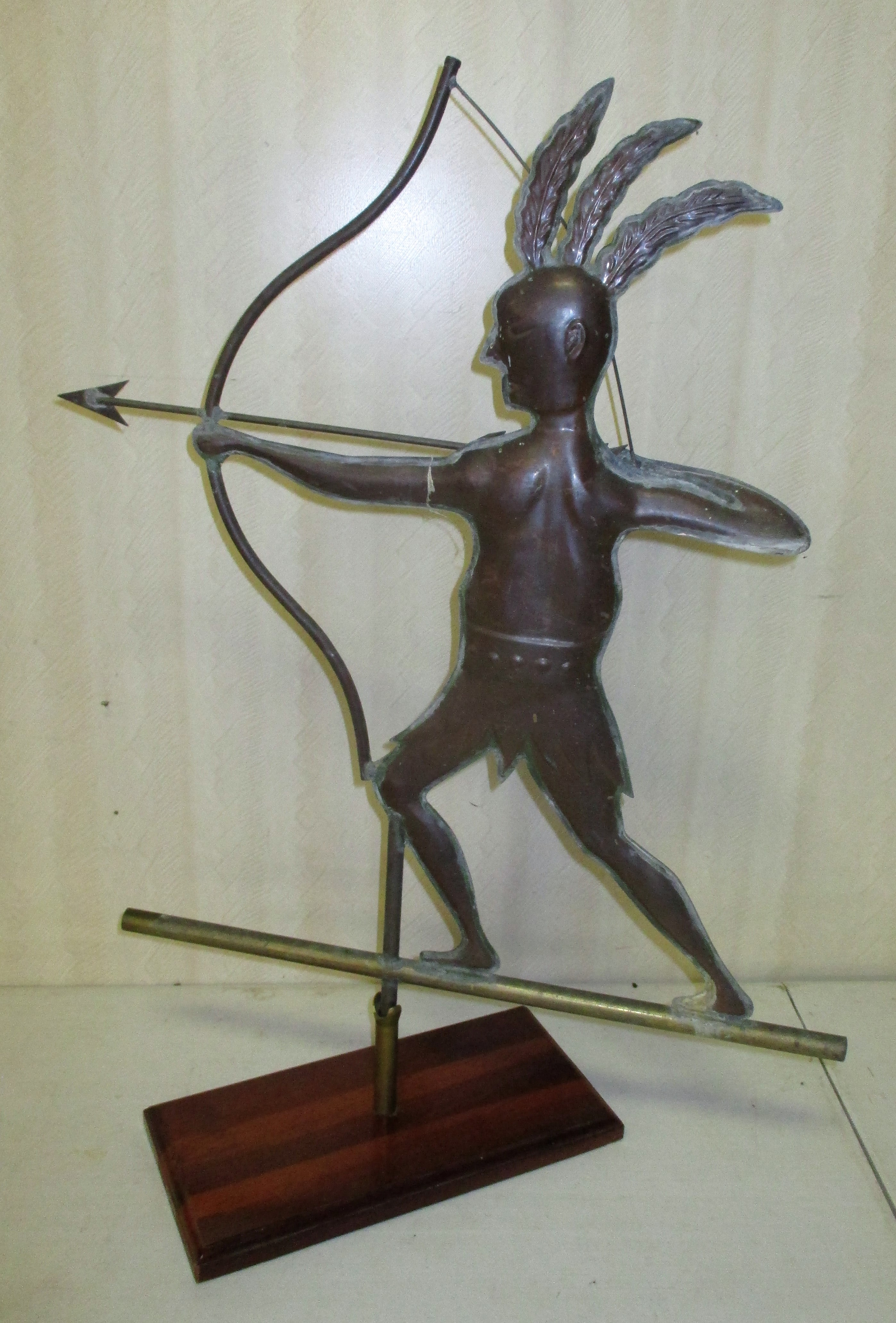 122: Indian Copper Weathervane