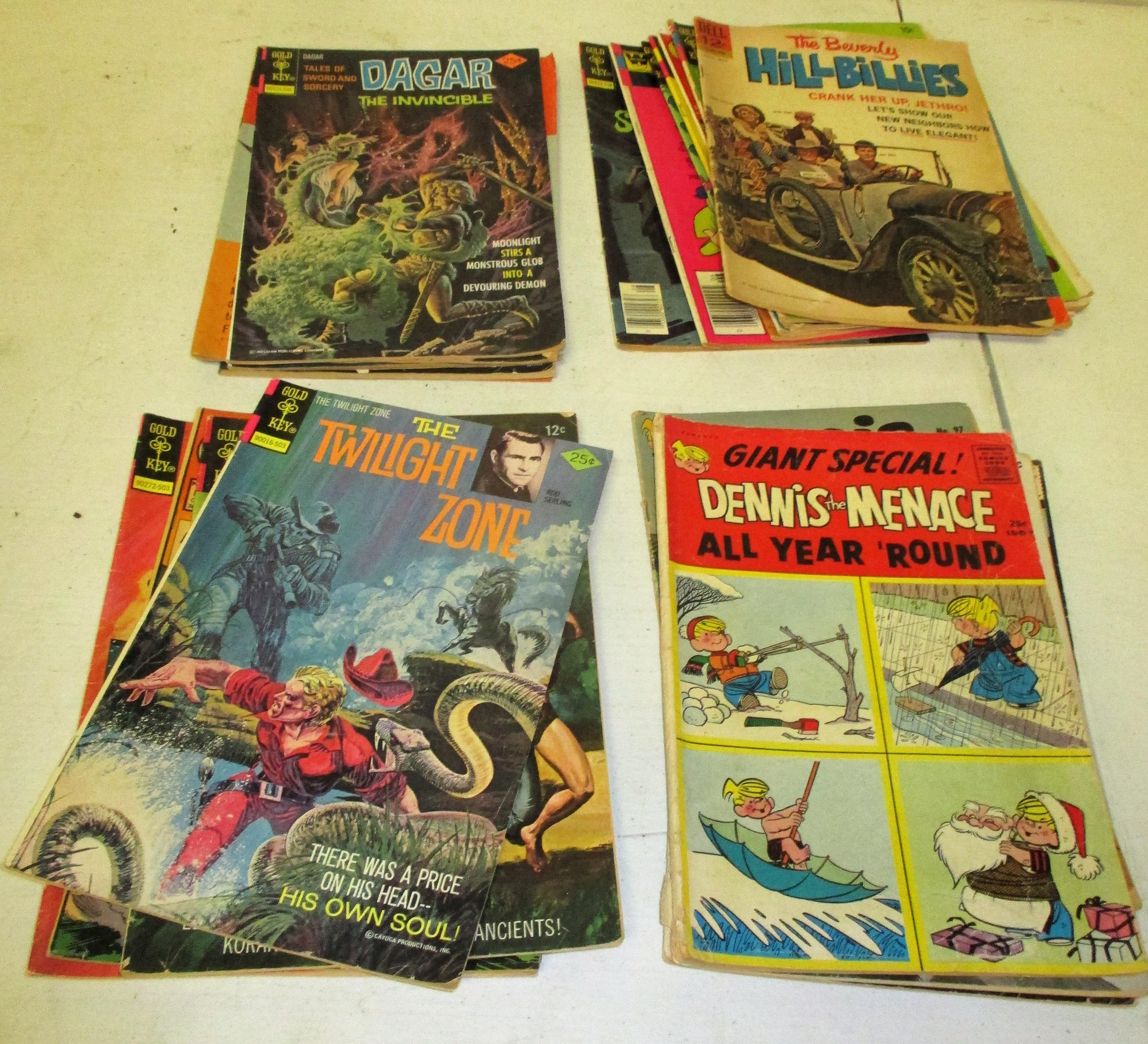 128: (25) Comic Books