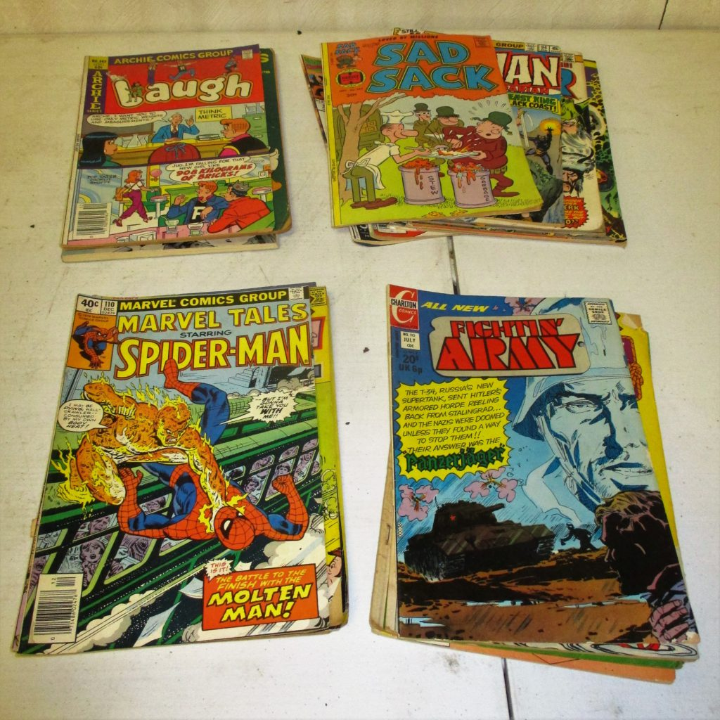138: (25) Comic Books