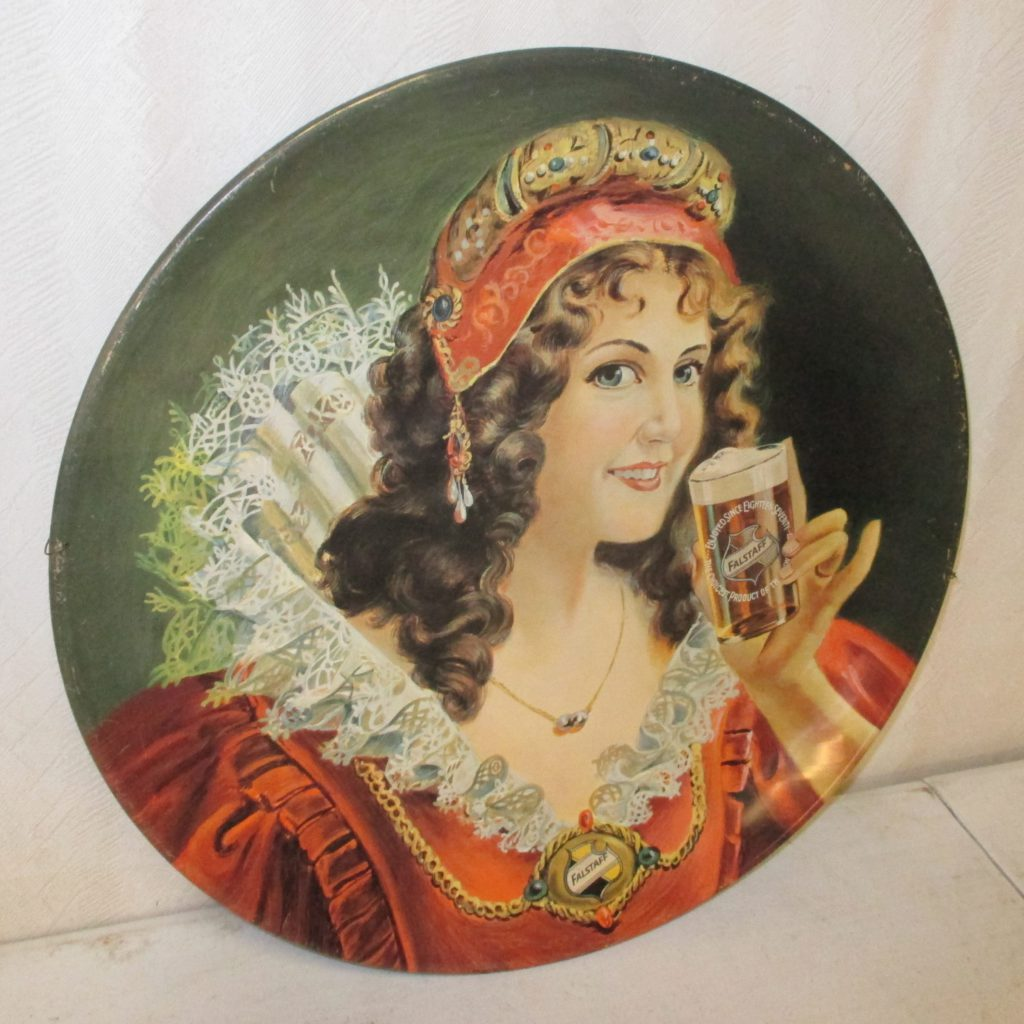140: Falstaff Lady Beer Tray