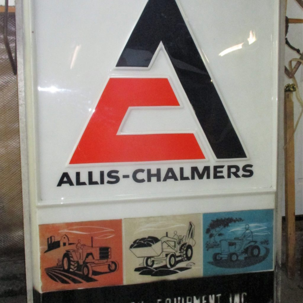 145: Allis Chalmers Light Up Sign