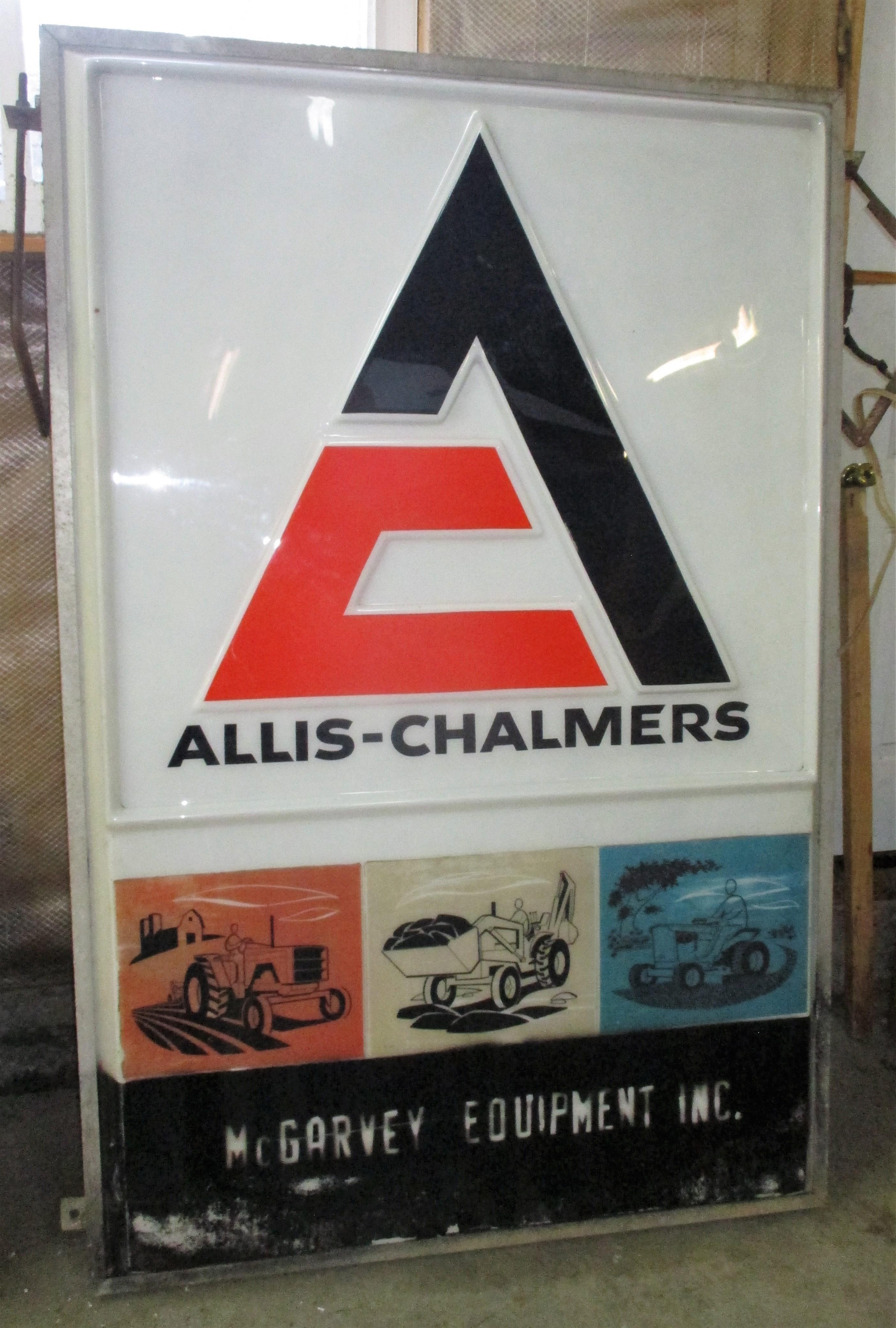 145: Allis Chalmers Light Up Sign