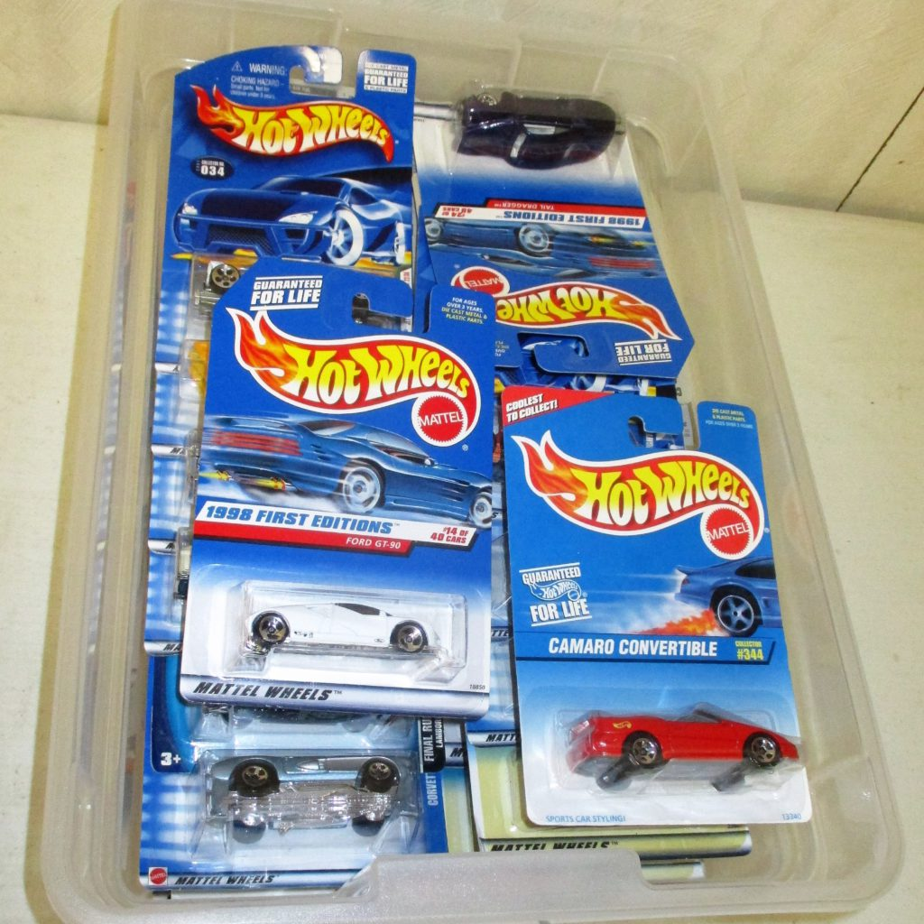 147: Hot Wheels On Card Lot