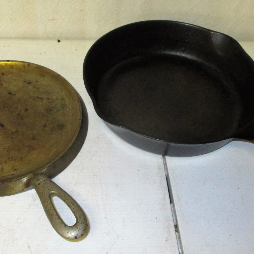 148: #7 Griddle And #6 Griswold Skillet