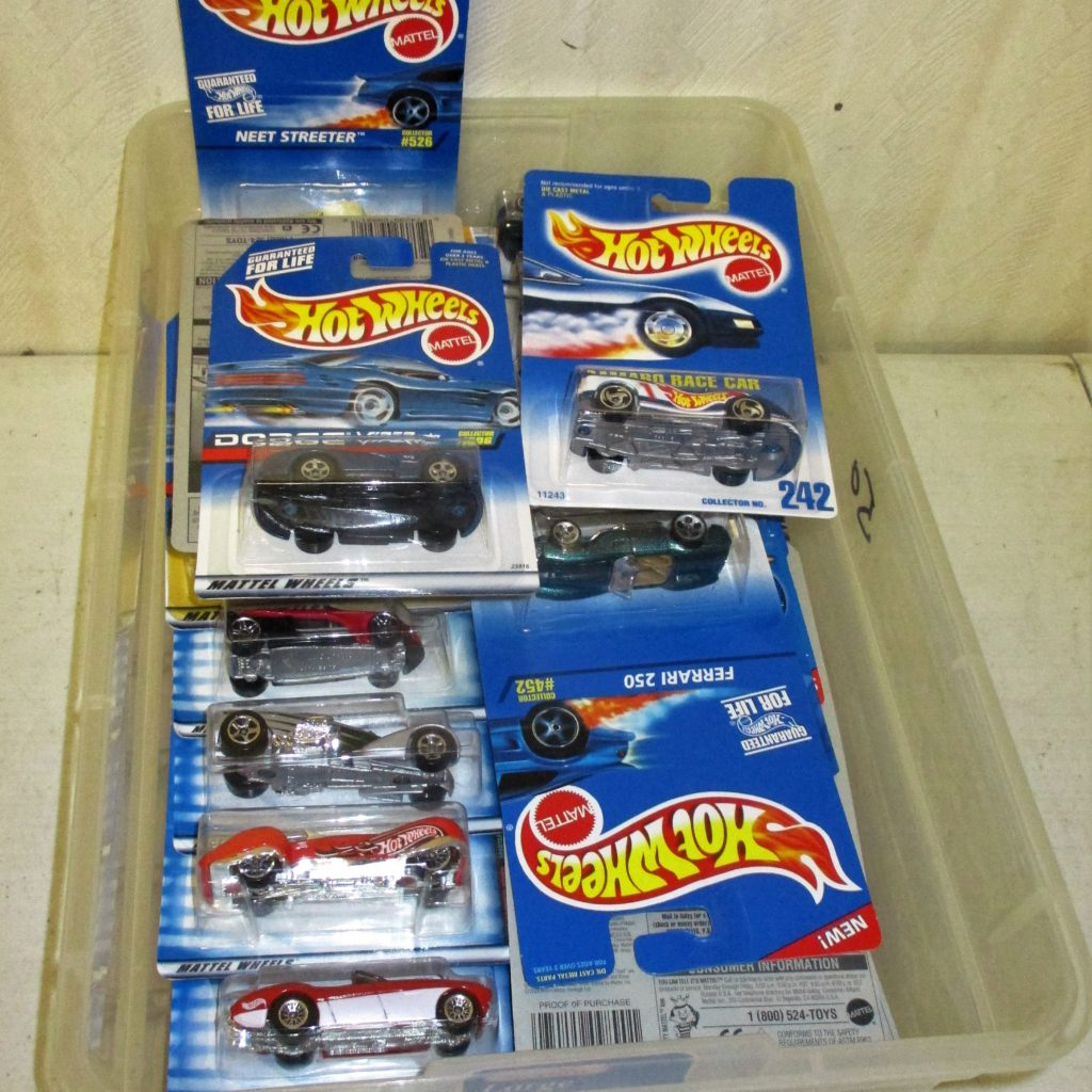 156: Hot Wheels Lot