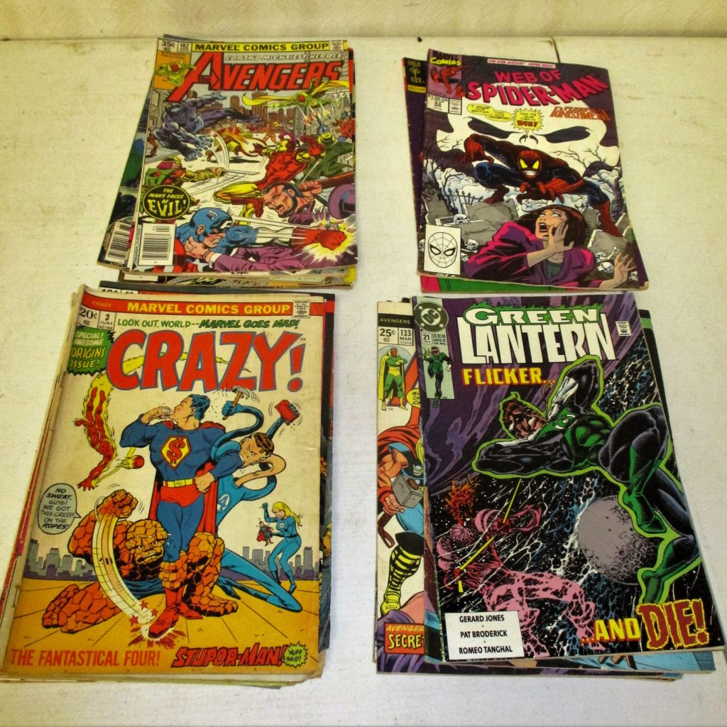 157: (250 Comic Books