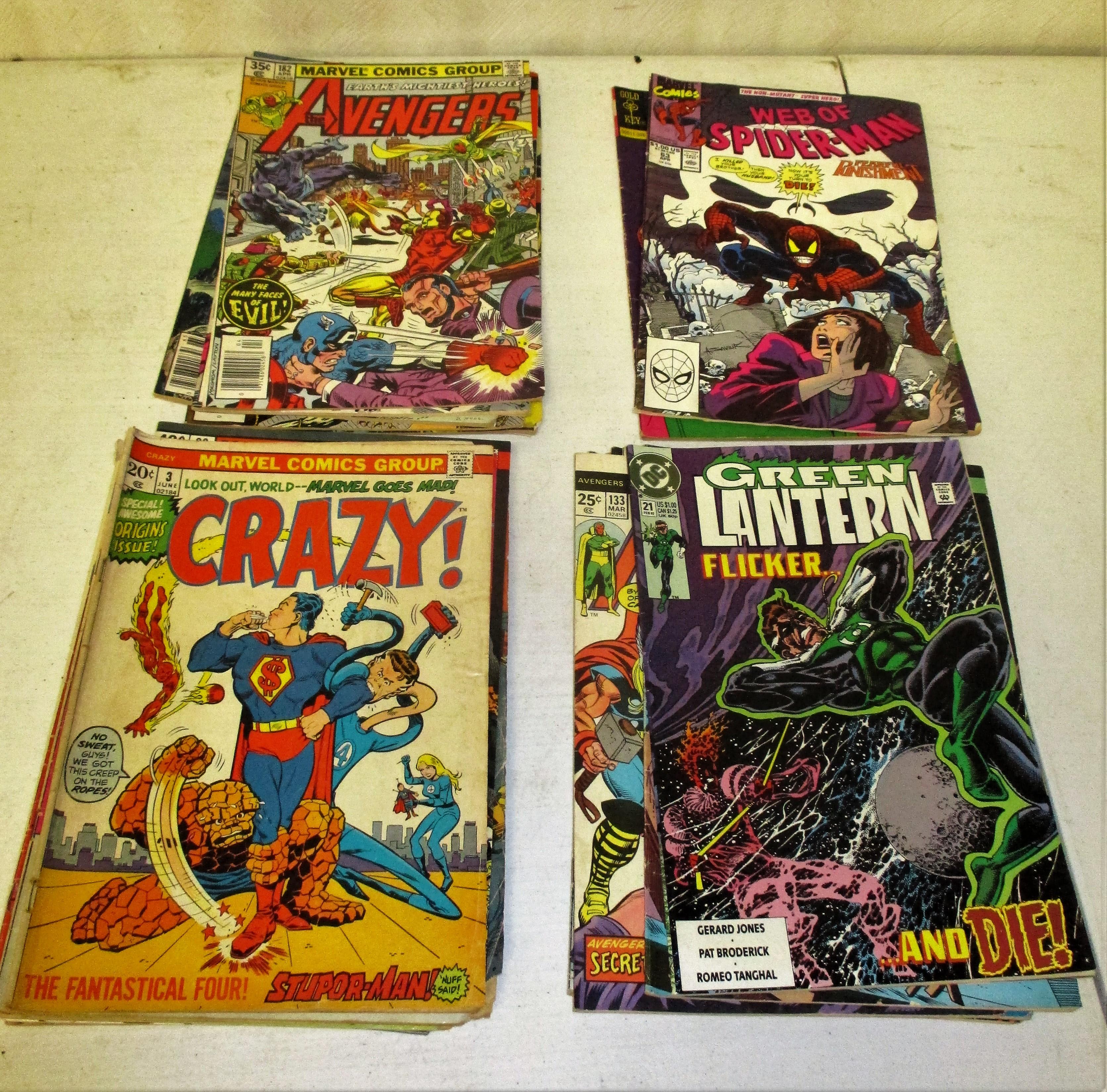 157: (250 Comic Books