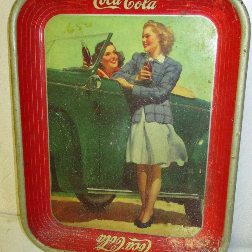 158: Coca-Cola Tray