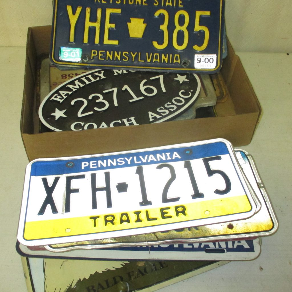 166: License Plate Lot