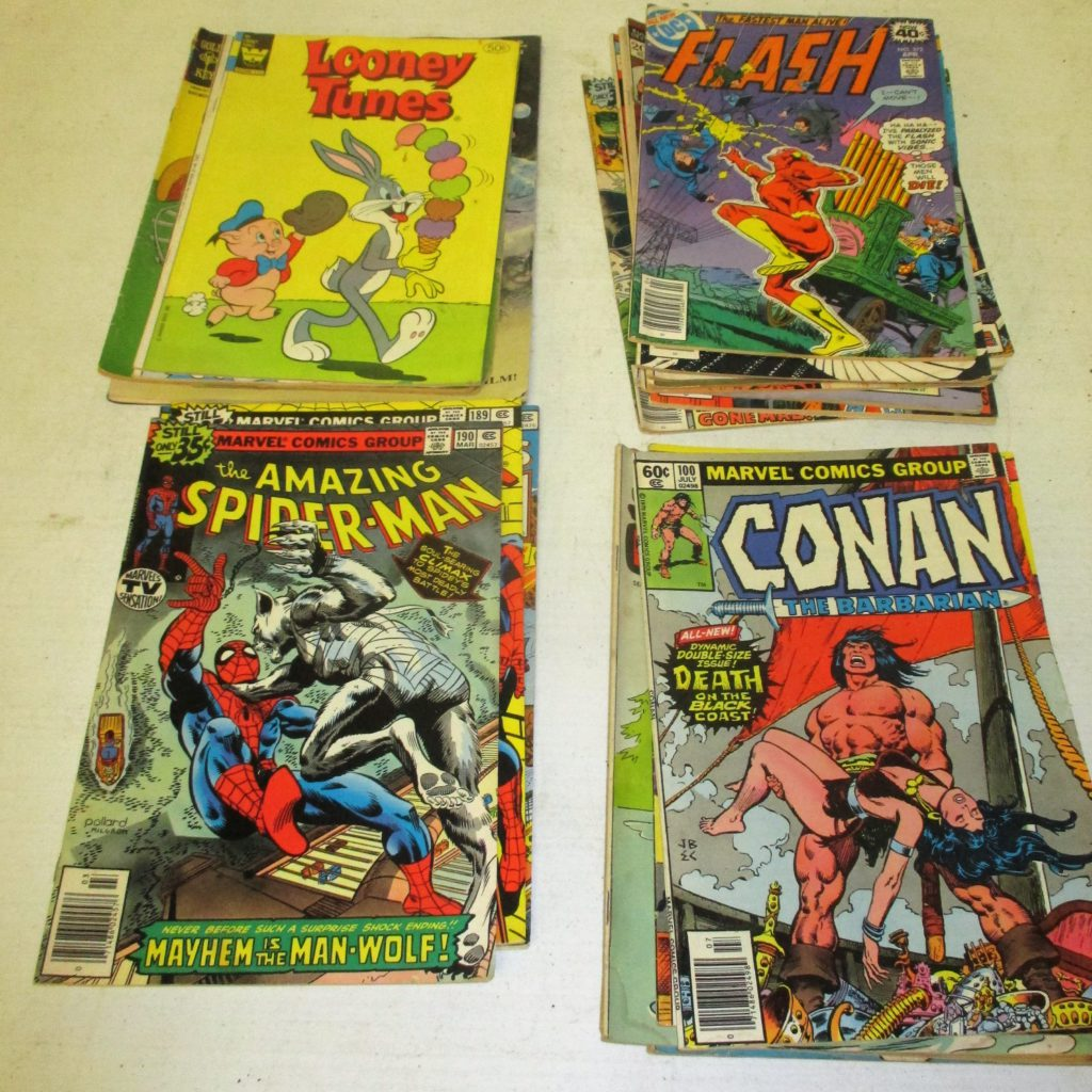 168: (25) Comic Books