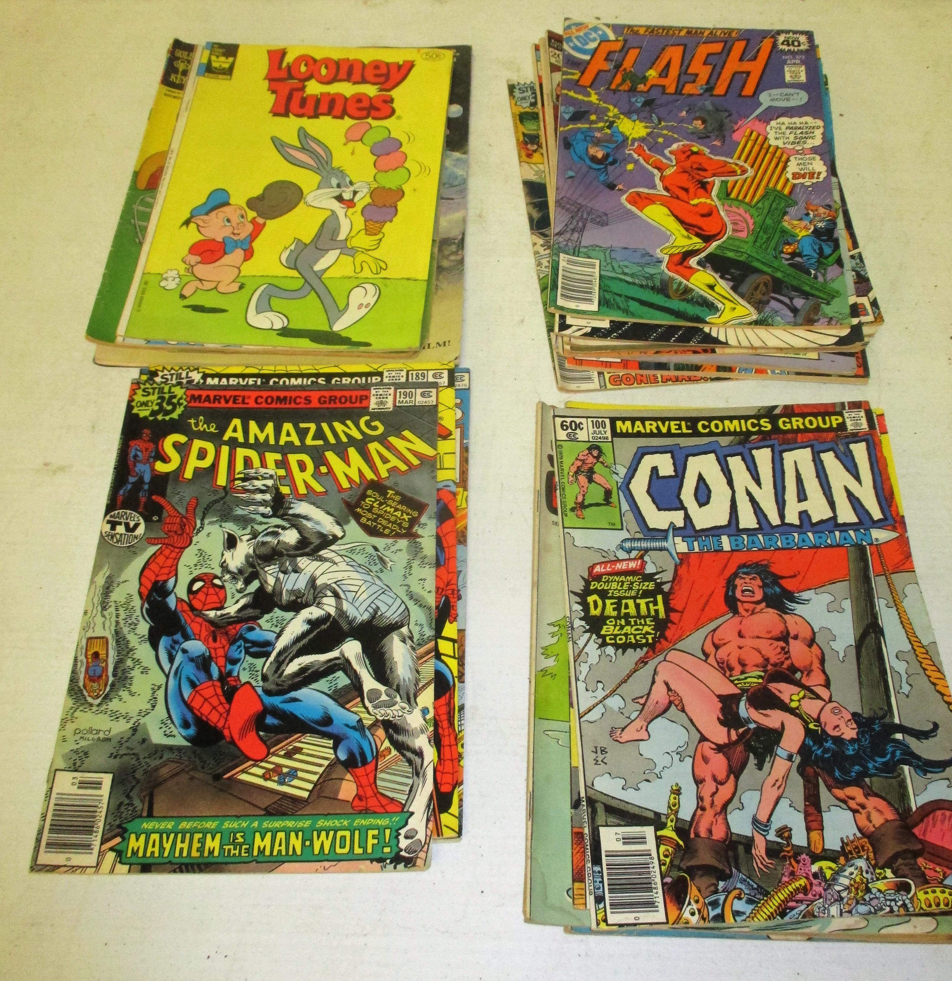 168: (25) Comic Books