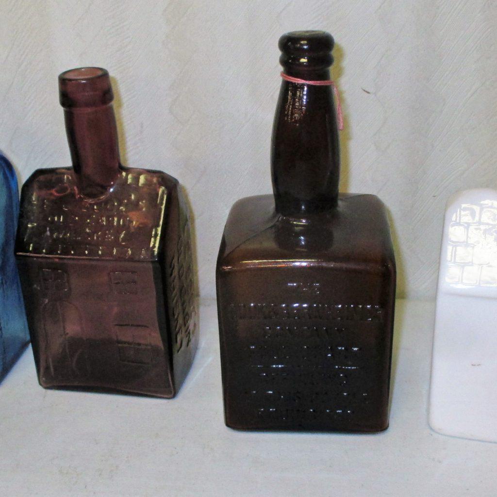 36: (4) Vintage Bottles