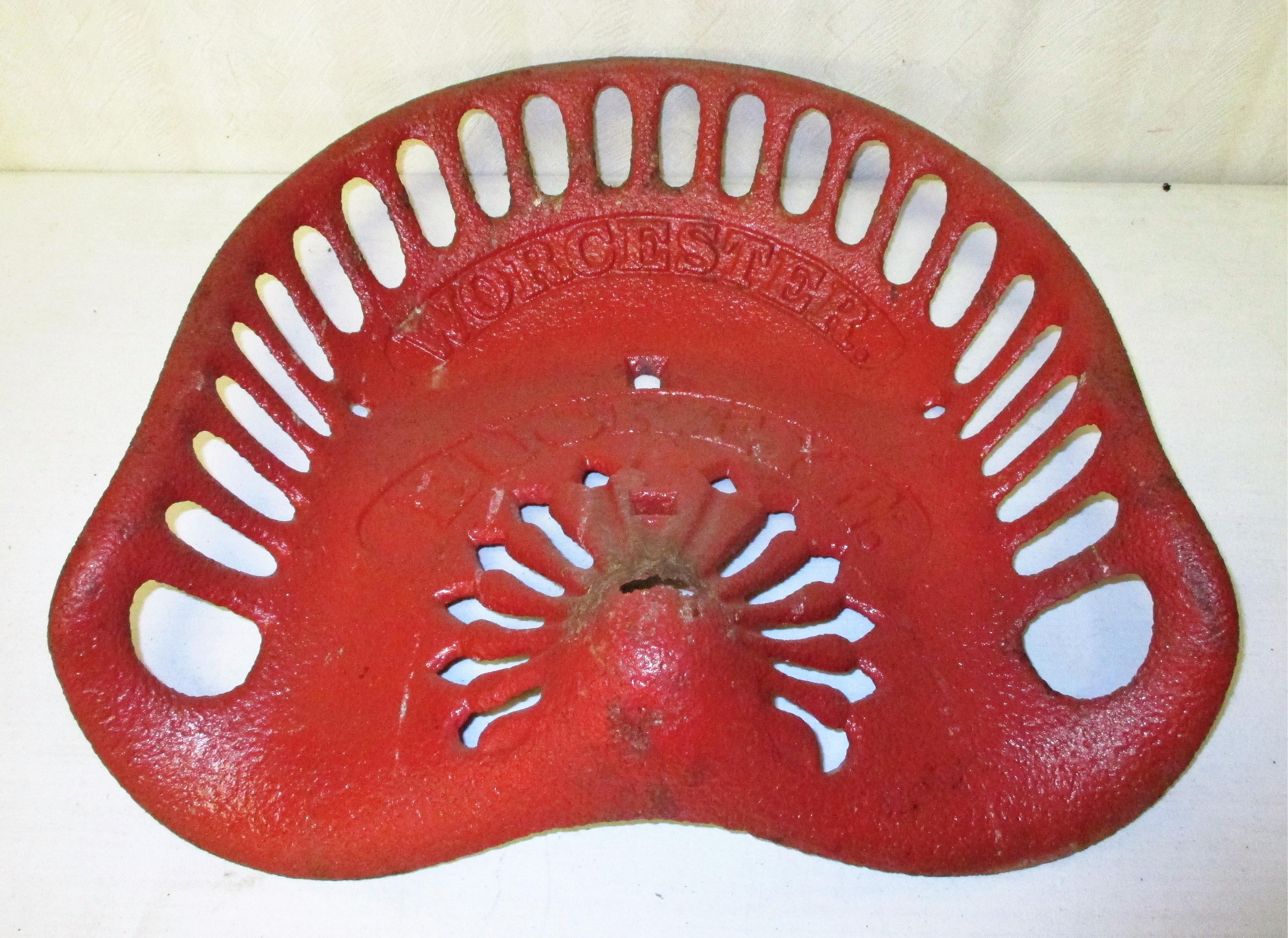 37: Buckeye Cast Iron Seat