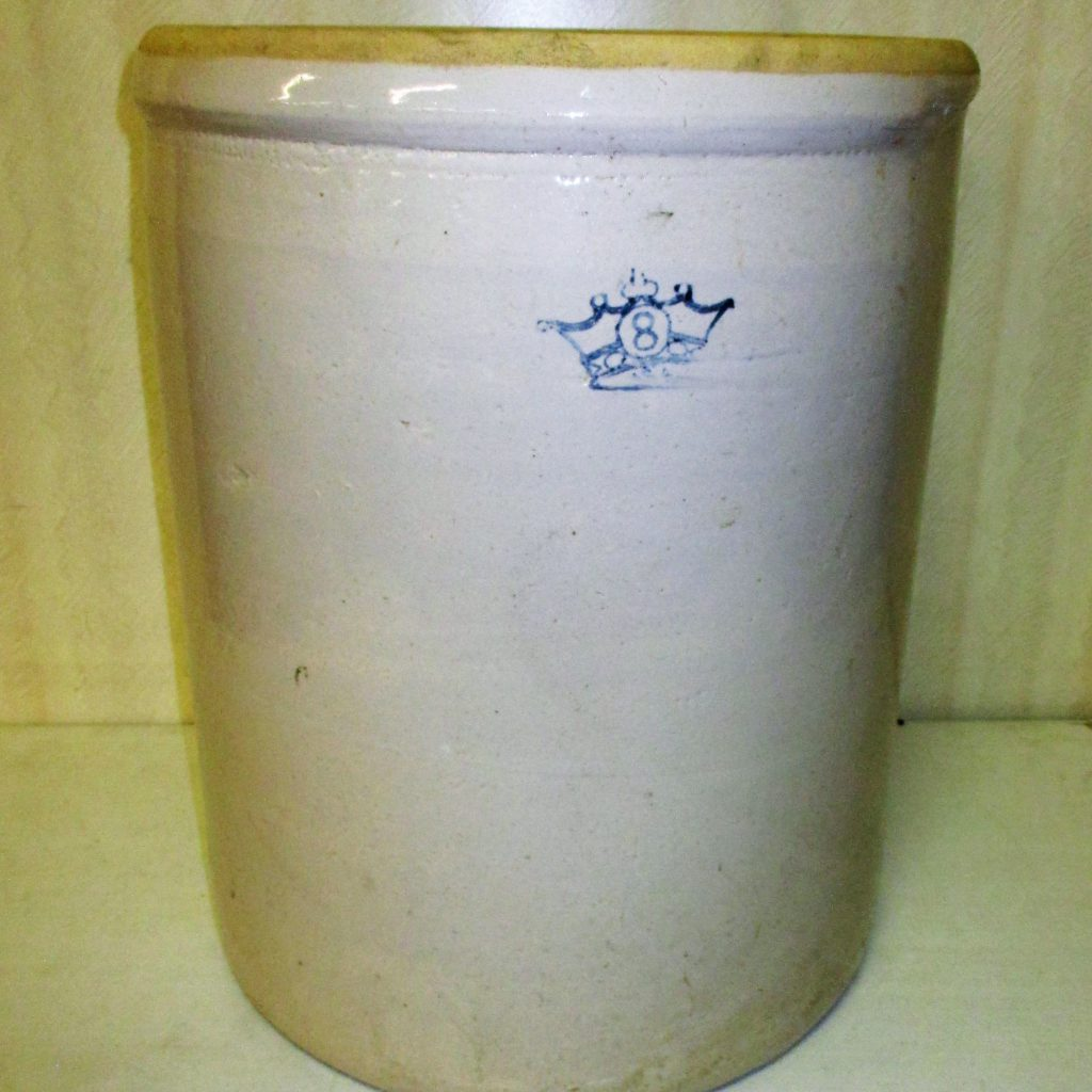 3: 8 Gallon Crock
