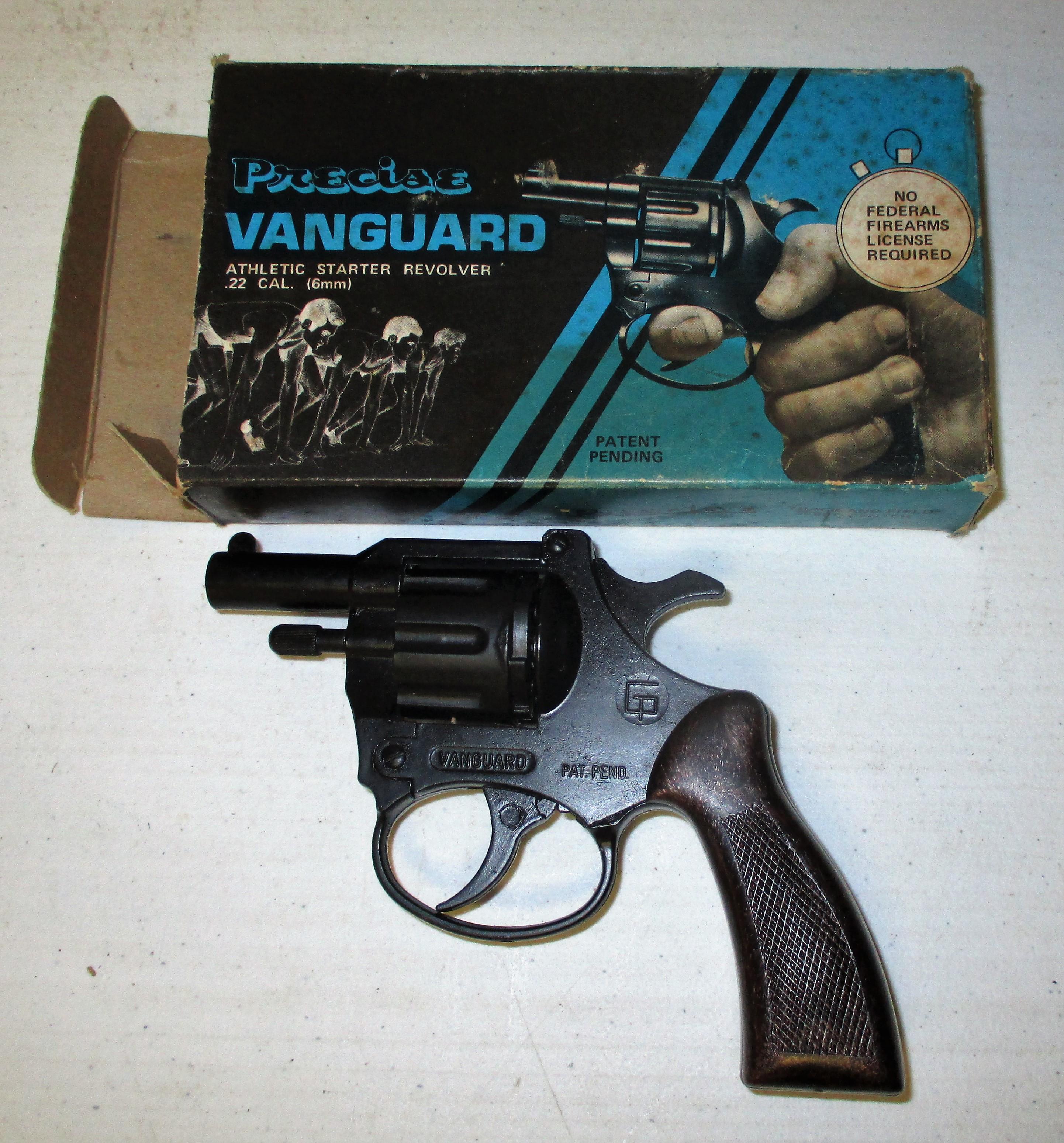 40: Vanguard Starter Revolver