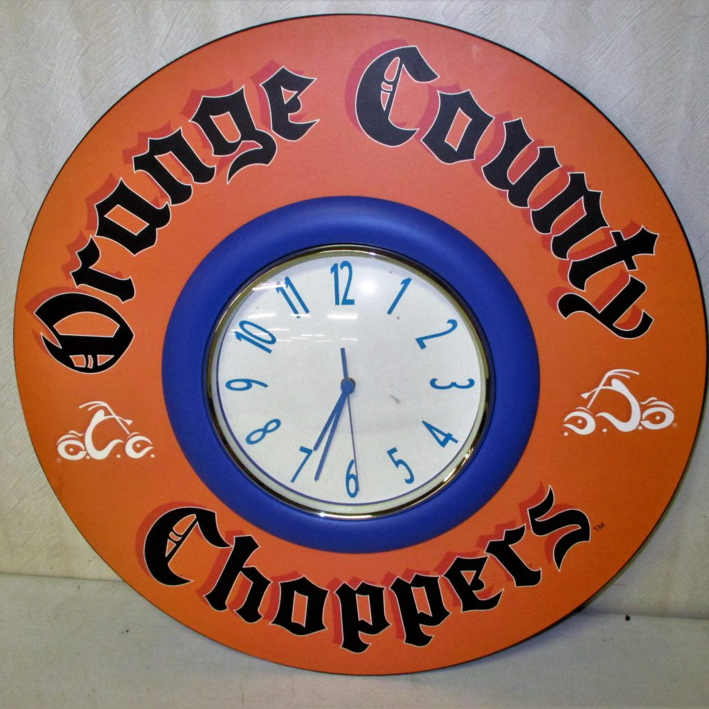 49: Orange County Choppers Clock