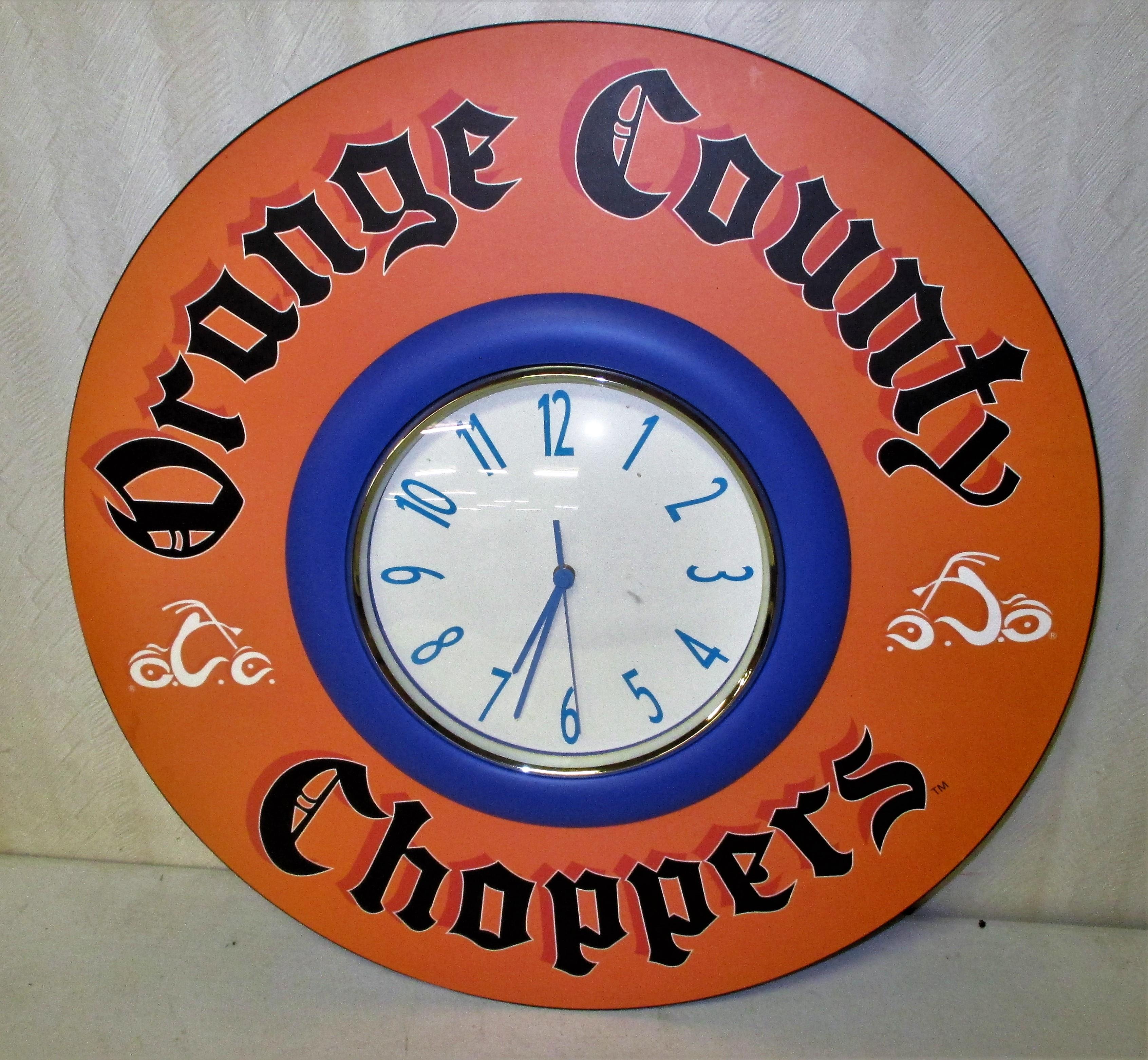 49: Orange County Choppers Clock