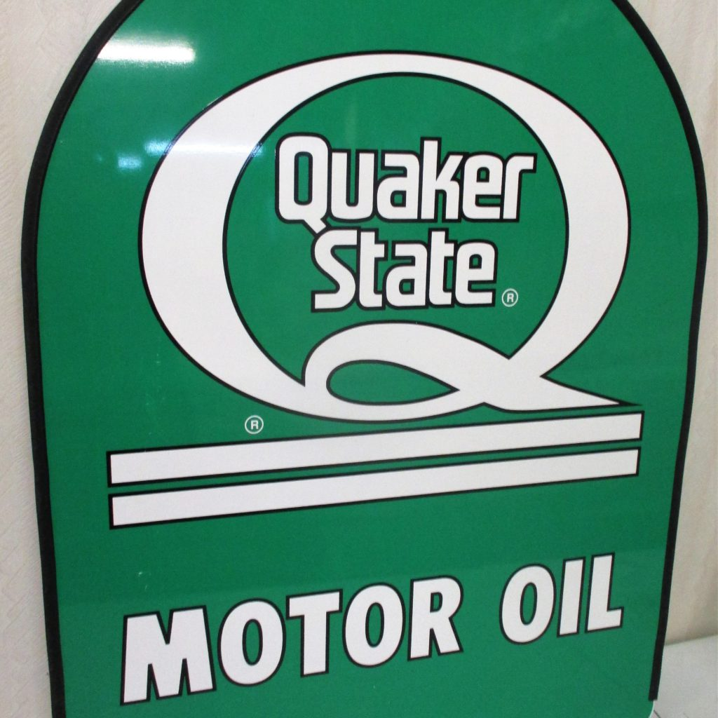 55: Quaker State Motor Oil Sign