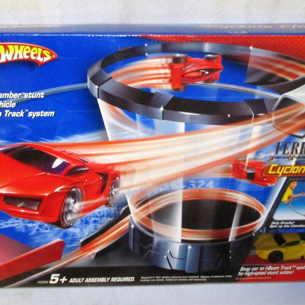 57: Hot Wheel Cyclone Chamber Playset