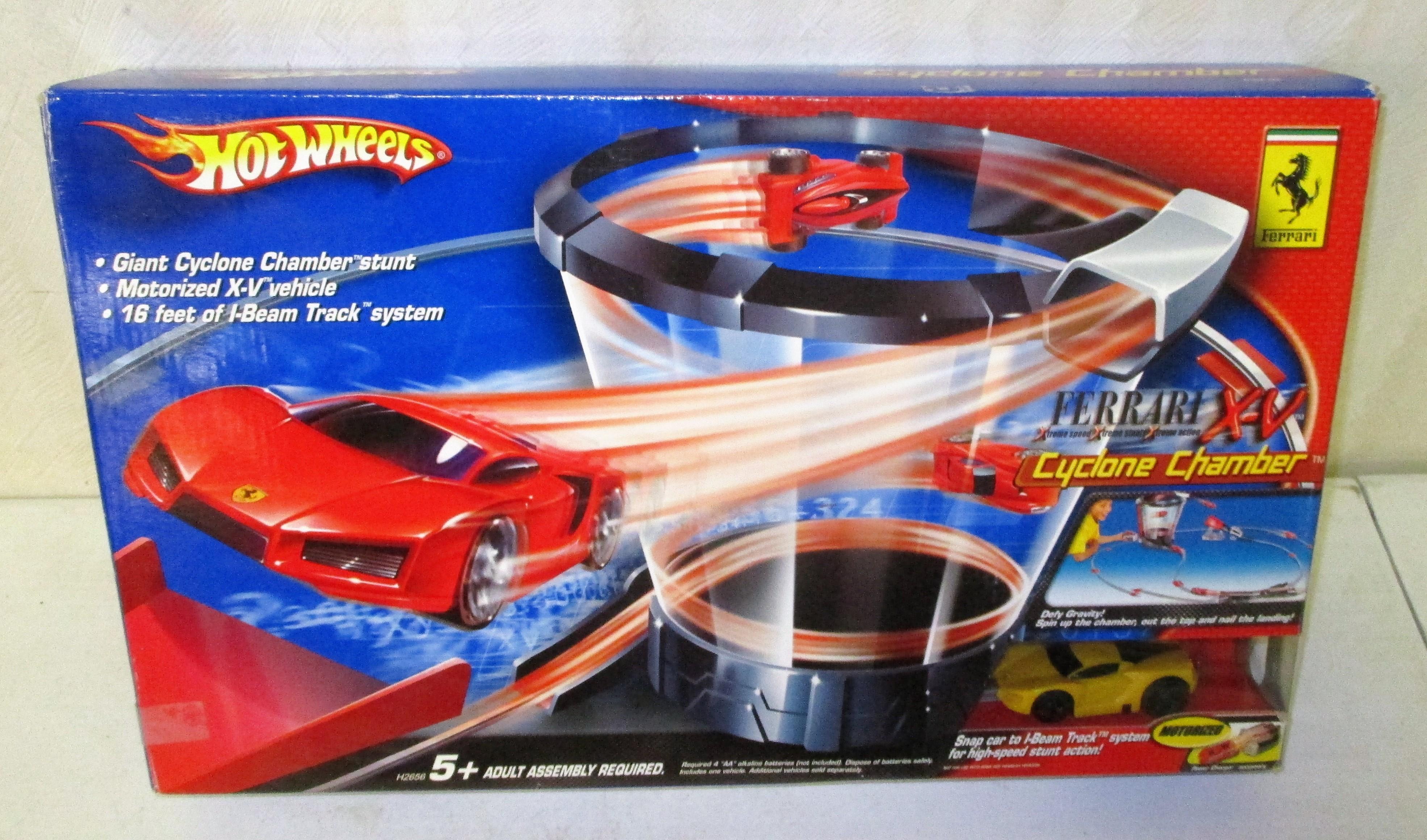 57: Hot Wheel Cyclone Chamber Playset