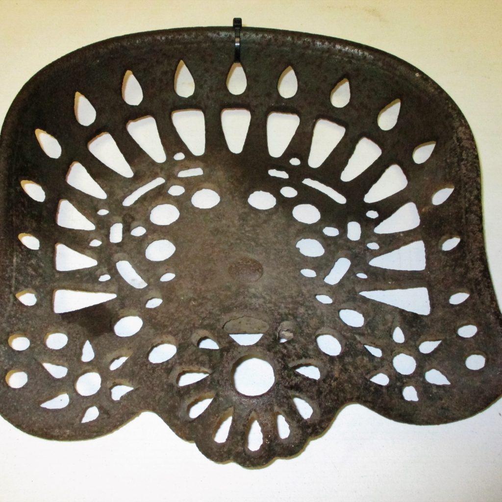 5: Cast Iron Seat