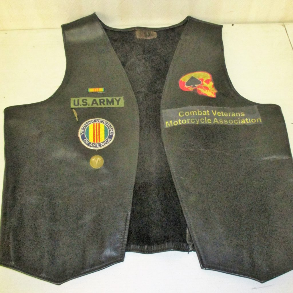 62: Veteran's Motorcycle Vest