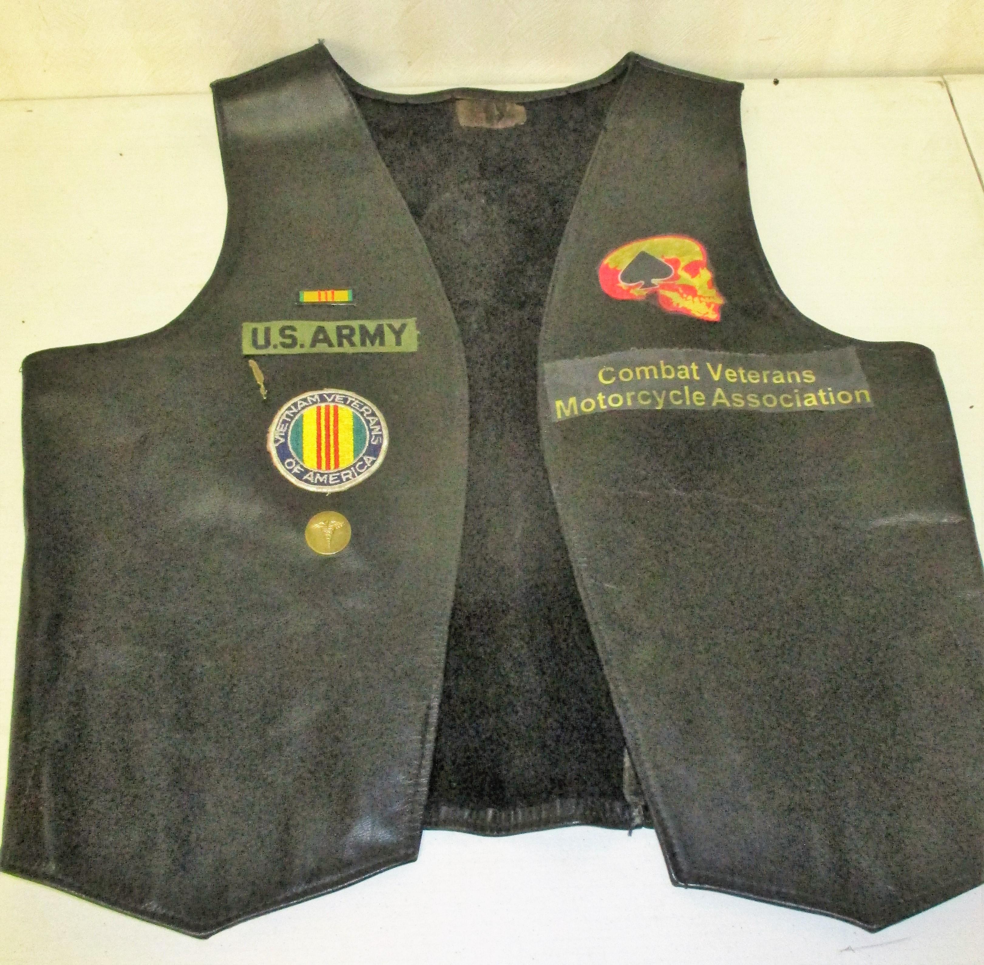 62: Veteran's Motorcycle Vest