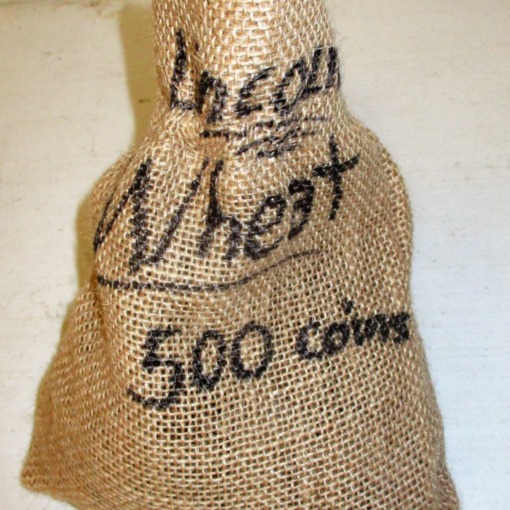 64: Sack Of Wheat Pennies