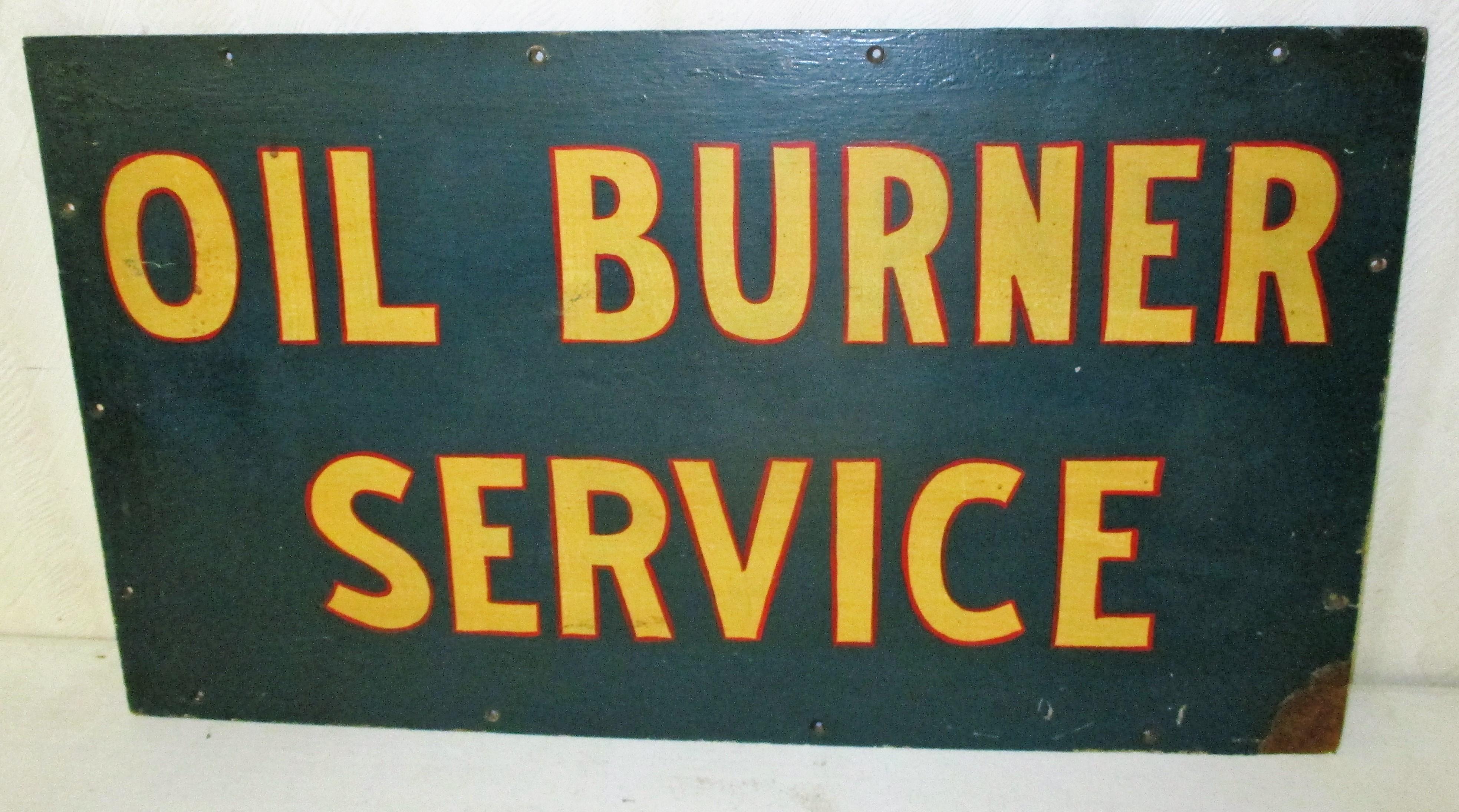 69: Oil Burner Sign