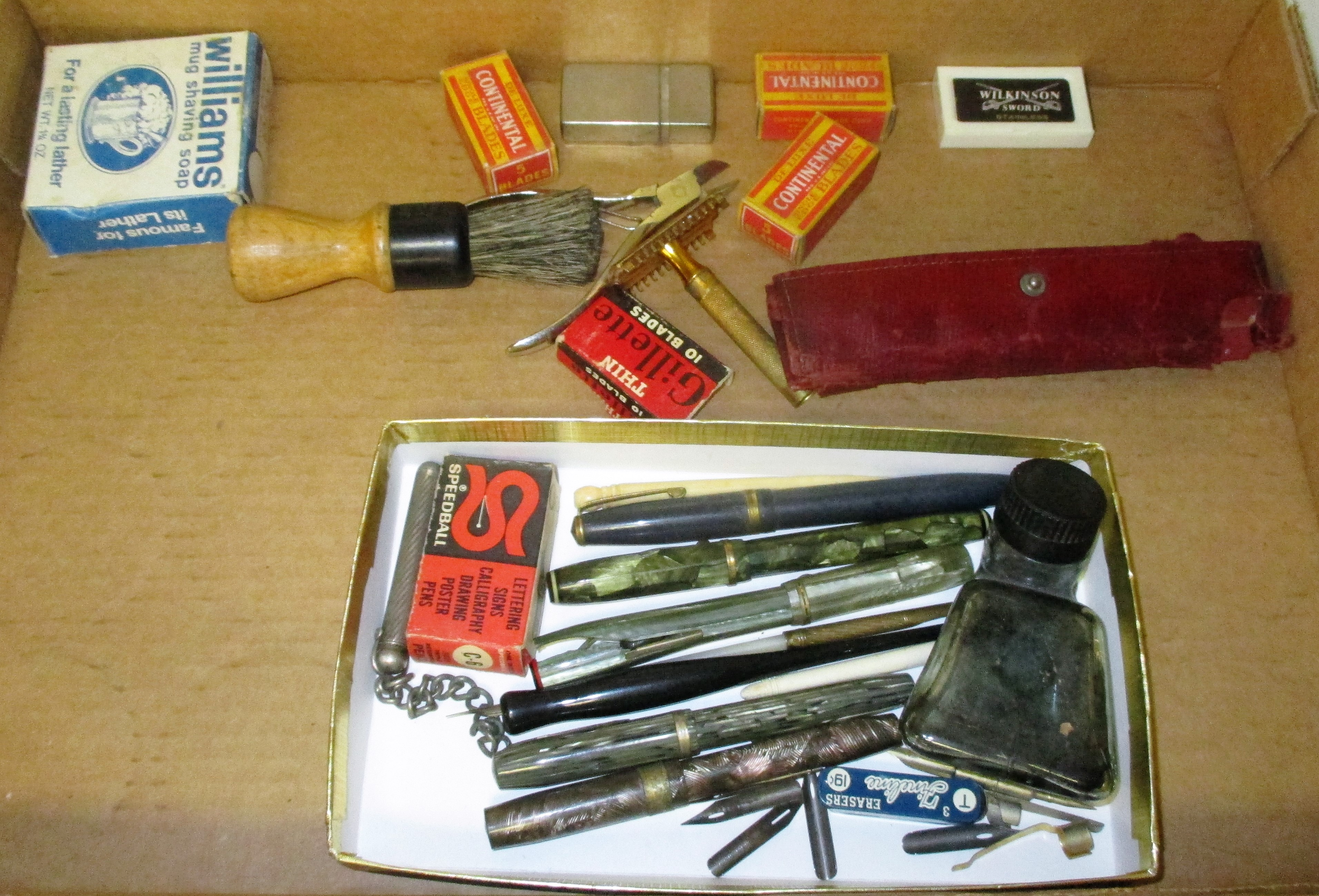 80: Fountain Pens And Shaving Knives