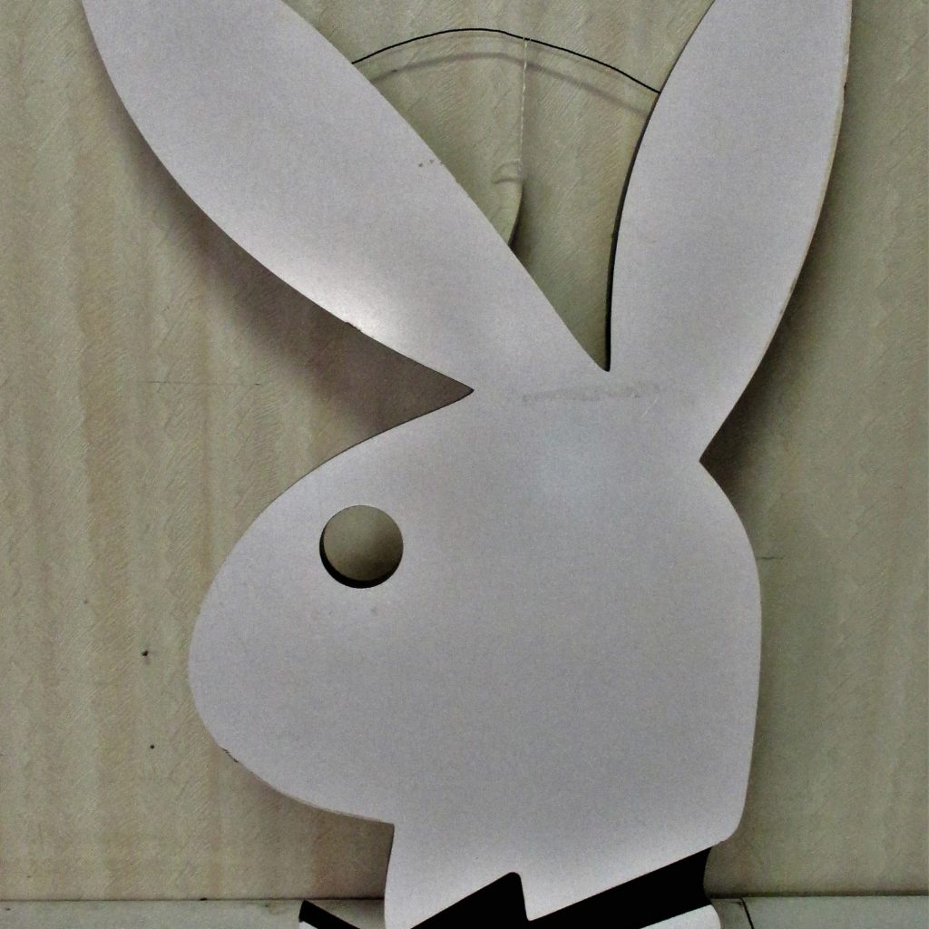 Playboy Wood Sign