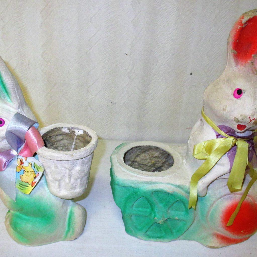 87: Paper Mache Bunnies