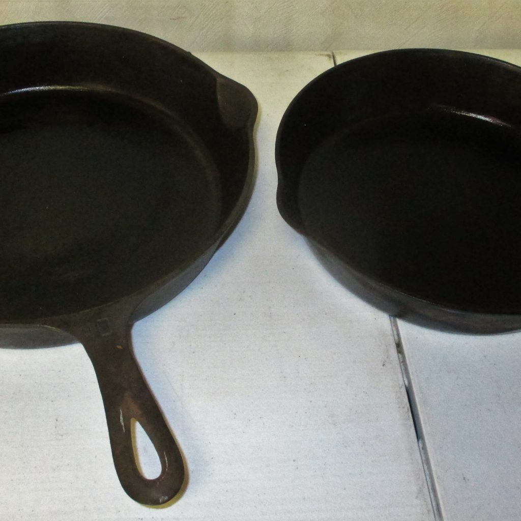94: #9 And #10 Griswold Skillets